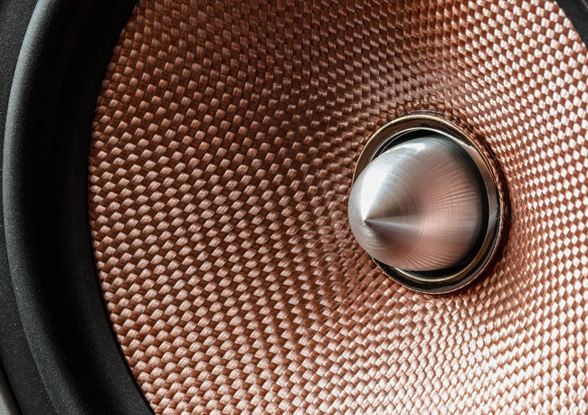 close up photo of a speaker